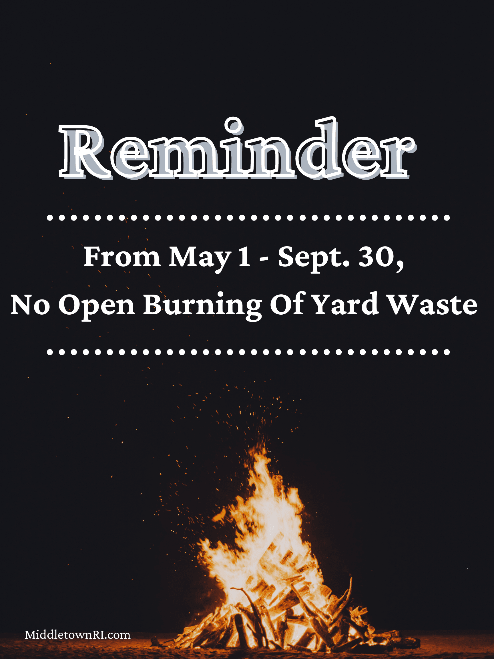 Outdoor Burn Ban-2
